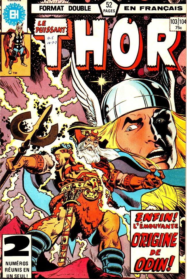 Couverture de Thor (Éditions Héritage) -103104- De nouvelles Asgards pour les vieilles!