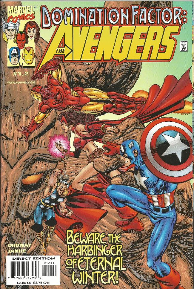 Couverture de Domination Factor: Fantastic Four -1.2- The Avengers