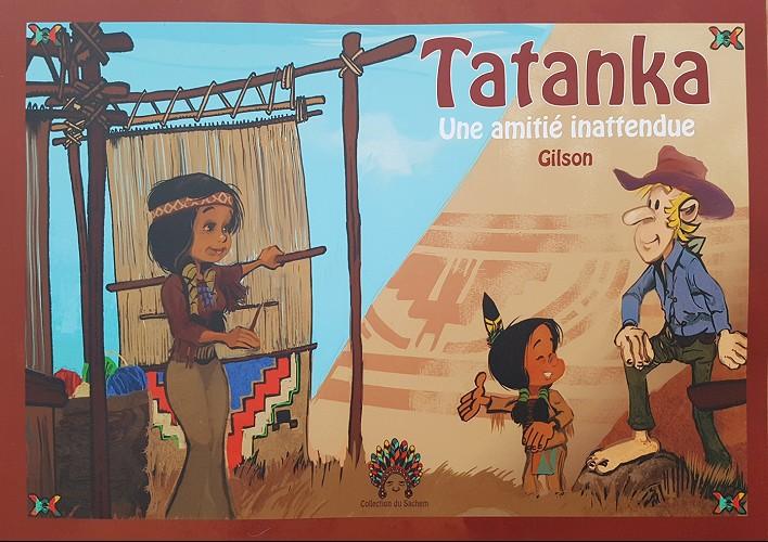 Couverture de Tatanka (Gilson) -1- Une amitié inattendue