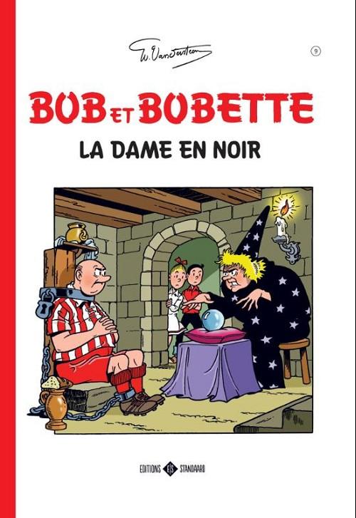 Couverture de Bob et Bobette (Classics) -9- La dame en noir