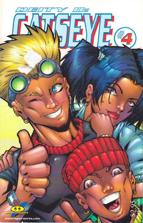 Couverture de Catseye (1998) -4- Issue 4