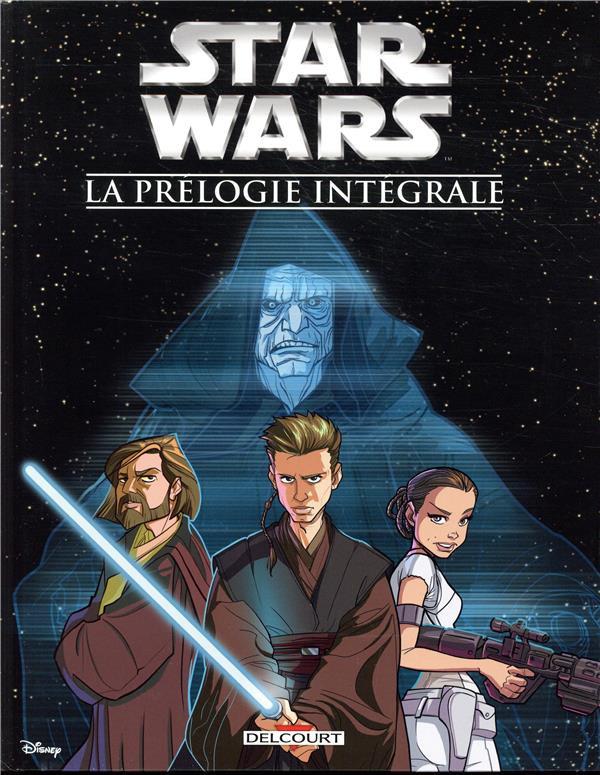 Couverture de Star Wars (Delcourt / Disney) -INT2- La prélogie intégrale