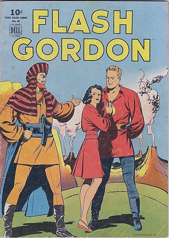 Couverture de Four Color Comics (Dell - 1942) -84- Flash Gordon