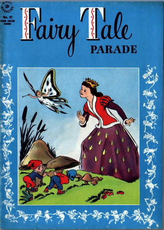 Couverture de Four Color Comics (Dell - 1942) -87- Fairy Tale Parade
