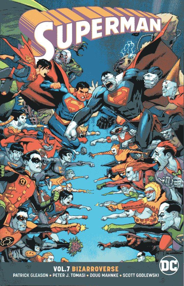 Couverture de Superman (2016) -INT07- Bizarroverse