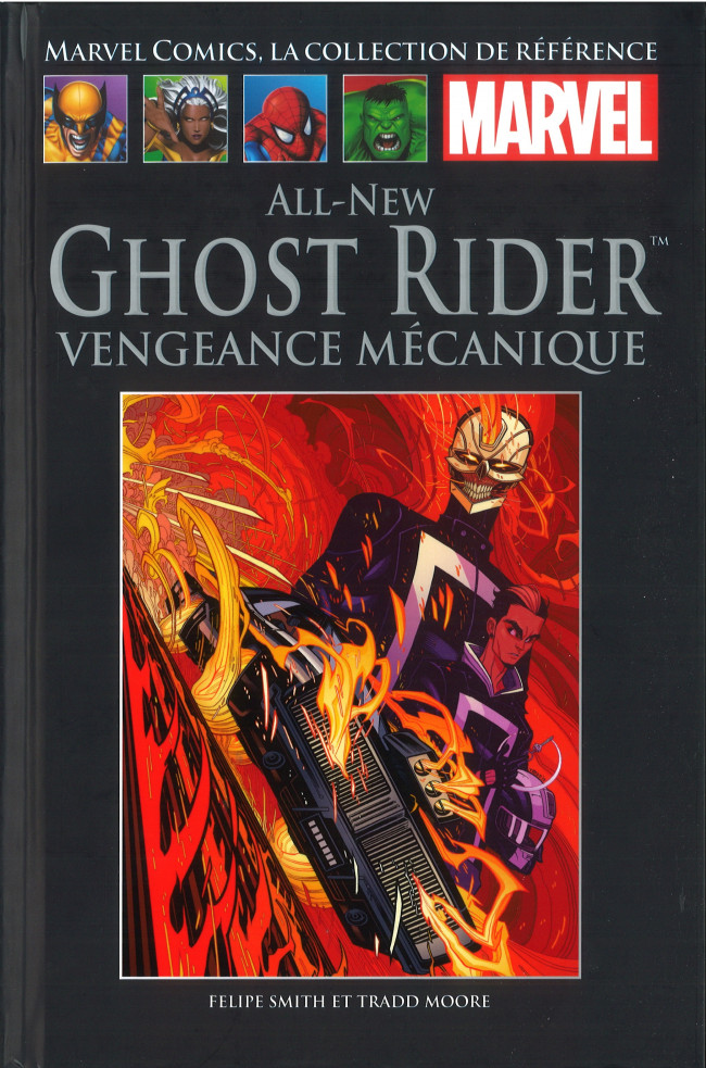 Couverture de Marvel Comics - La collection (Hachette) -124100- All-New Ghost Rider - Vengeance Mécanique