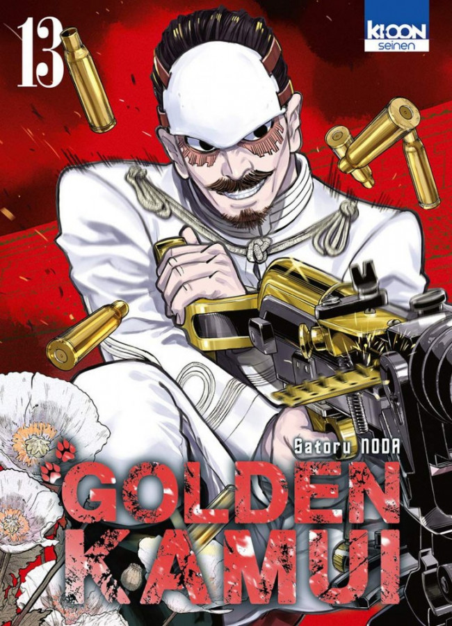 Couverture de Golden Kamui -13- Tome 13