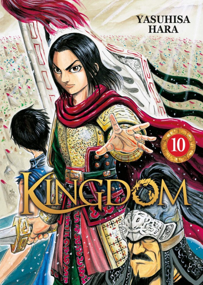 Couverture de Kingdom -10- Tome 10