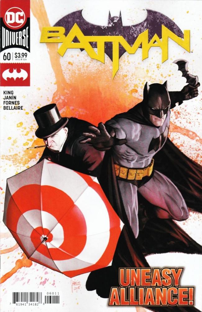 Couverture de Batman (2016) -60- The Tyrant Wing, Part Three