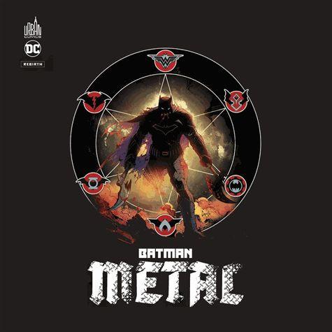 Couverture de Batman Metal -Cof- Metal