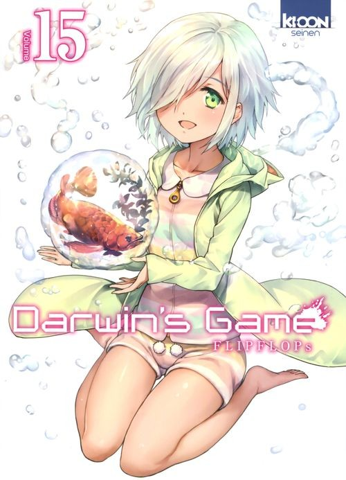 Couverture de Darwin's Game -15- Tome 15