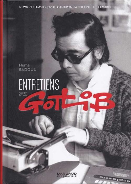Couverture de (AUT) Gotlib - Entretiens avec Gotlib