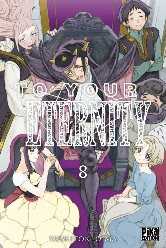 Couverture de To Your Eternity -8- Tome 8