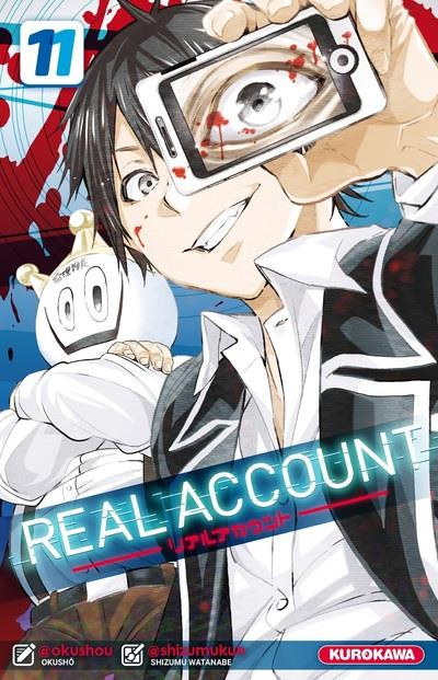 Couverture de Real Account -11- Tome 11