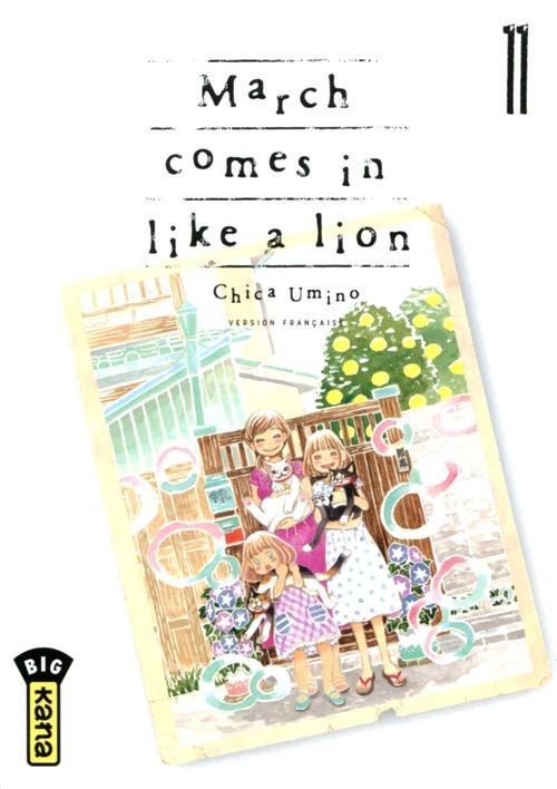 Couverture de March comes in like a lion -11- Tome 11