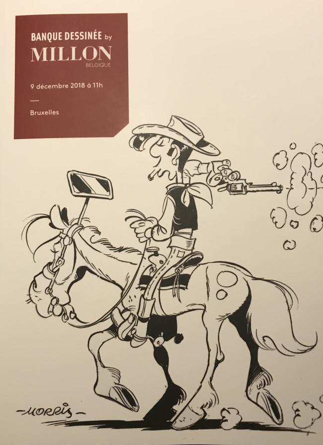 Couverture de (Catalogues) Ventes aux enchères - Millon - Millon - Bandes dessinées - 09 décembre 2018 - Bruxelles