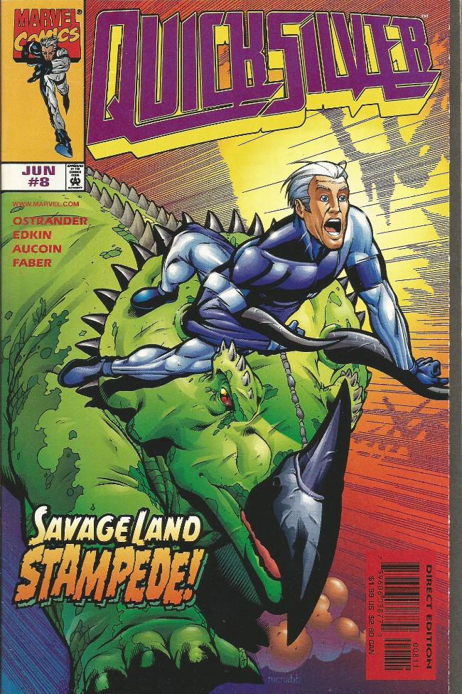 Couverture de Quicksilver (1997) -8- Rescue mission(s)!