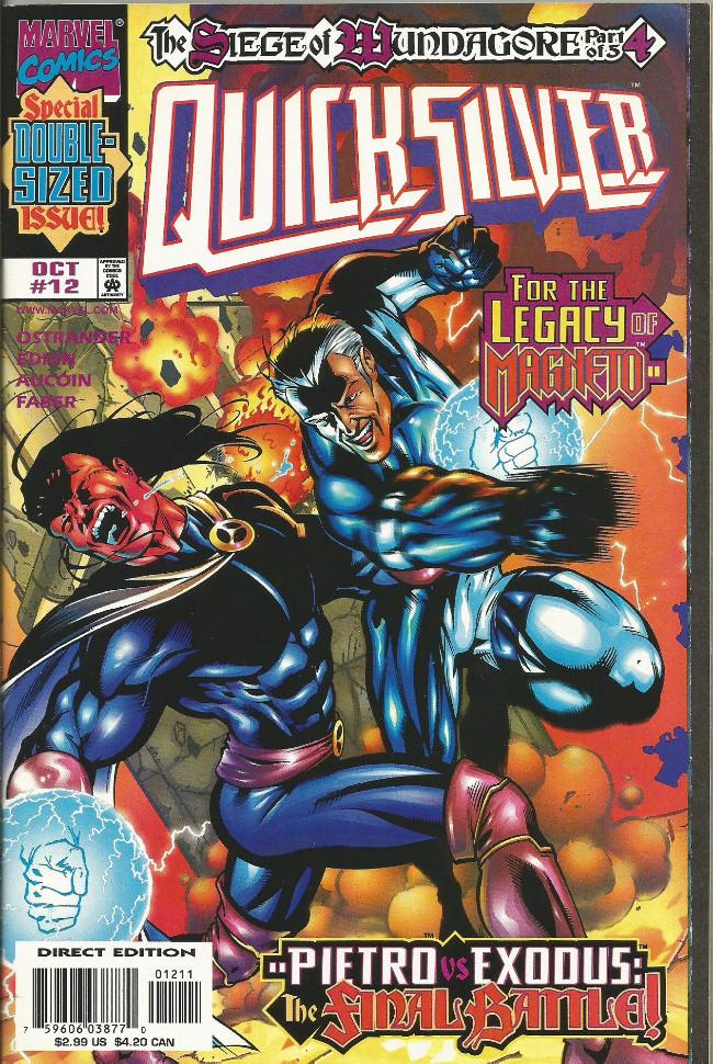 Couverture de Quicksilver (1997) -12- Heir of Magneto