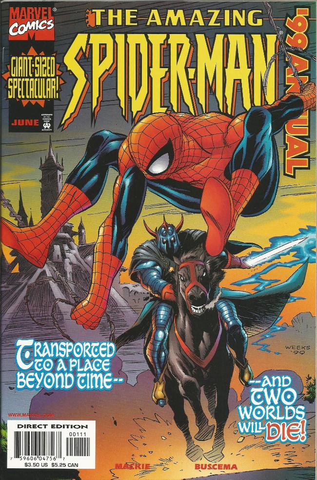 Couverture de Amazing Spider-Man (The) Vol.2 (Marvel comics - 1999) -AN1999- World enough & time