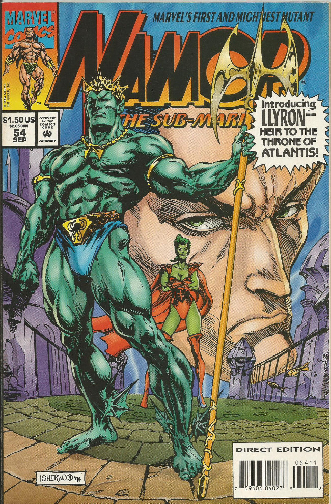 Couverture de Namor, The Sub-Mariner (Marvel - 1990) -54- The son of Namor part one