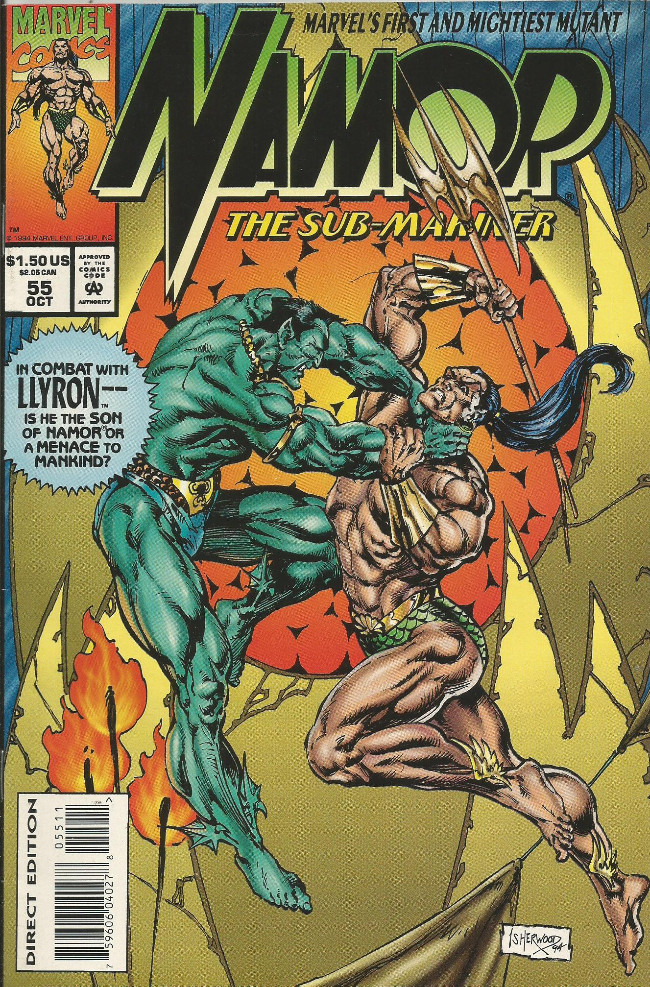 Couverture de Namor, The Sub-Mariner (Marvel - 1990) -55- The son of Namor part two