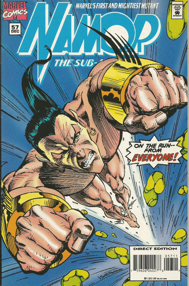 Couverture de Namor, The Sub-Mariner (Marvel - 1990) -57- The son of Namor finale