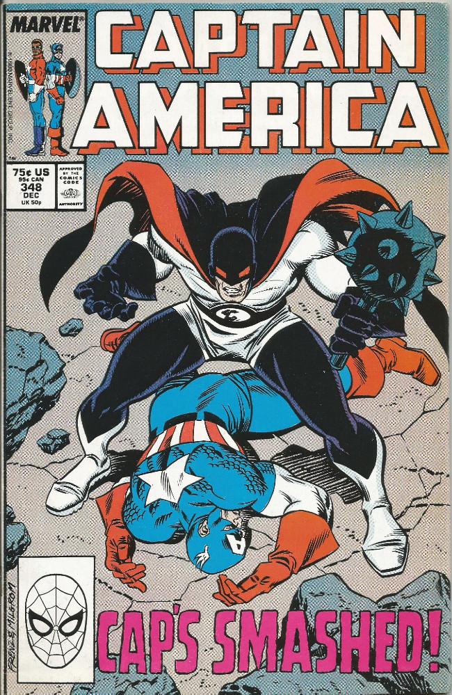 Couverture de Captain America (1968) -348- Out of commission