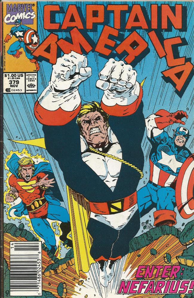 Couverture de Captain America (Marvel comics - 1968) -379- Moonstruck