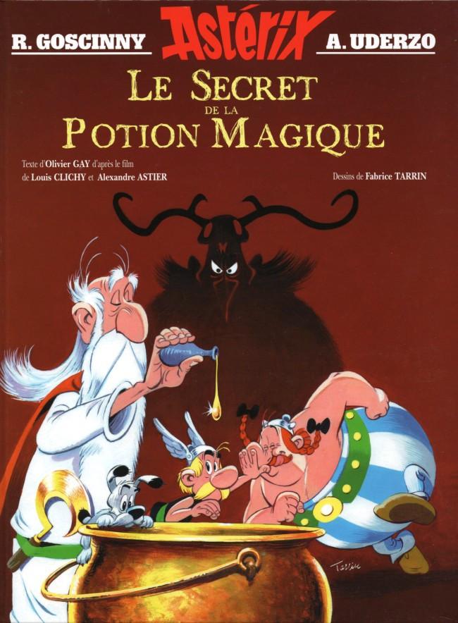 Couverture de Astérix (Hors Série) -C10- Le Secret de la Potion Magique
