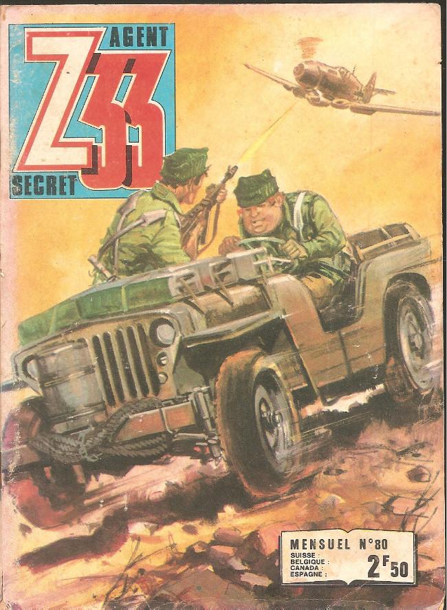 Couverture de Z33 agent secret -80- La bataille des sorcières