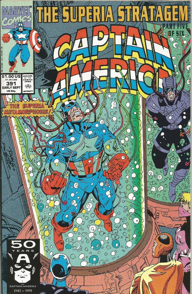 Couverture de Captain America (Marvel comics - 1968) -391- No man's land