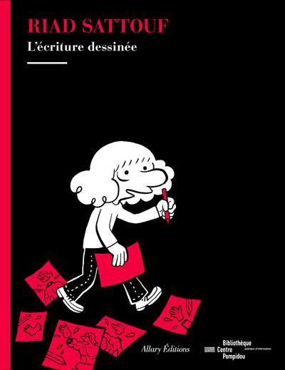 Couverture de (AUT) Sattouf -Cat- L'écriture dessinée