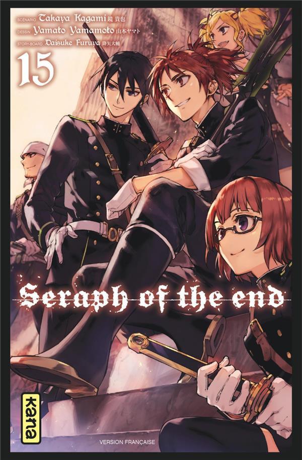 Couverture de Seraph of the End -15- Tome 15
