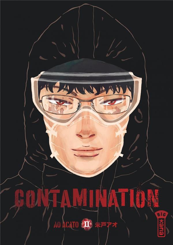 Couverture de Contamination -2- Tome 2