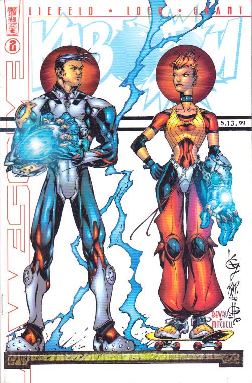 Couverture de Kaboom (1999) -2- Second Issue