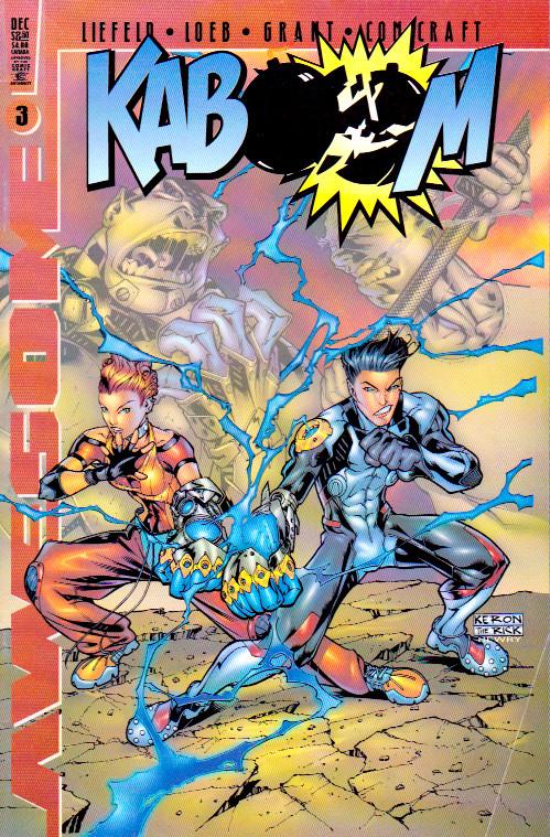 Couverture de Kaboom (1999) -3A- Issue 3