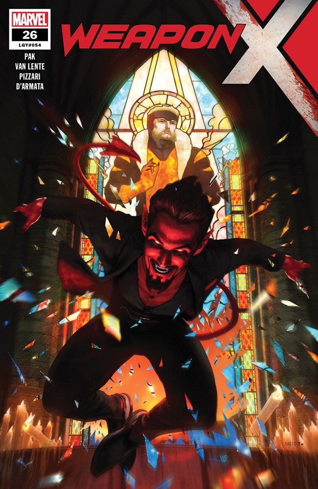 Couverture de Weapon X (2017) -26- Weapon X-Force: Part Five