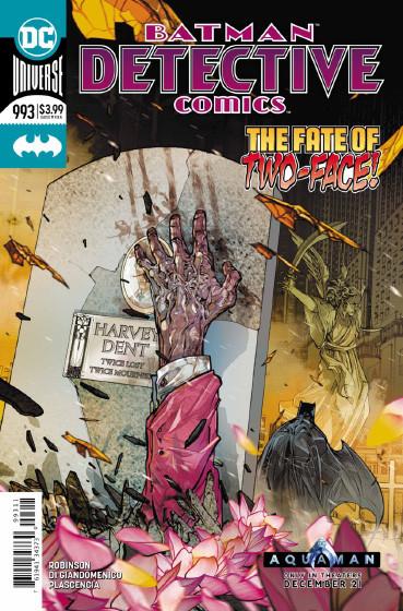 Couverture de Detective Comics (1937), Période Rebirth (2016) -993- Deface the Face - Finale : A dead Man