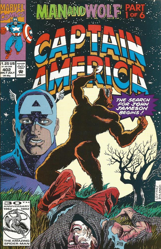 Couverture de Captain America (Marvel comics - 1968) -402- The prowling