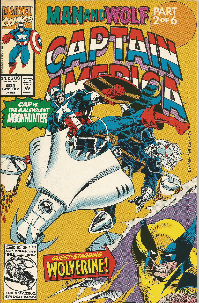 Couverture de Captain America (Marvel comics - 1968) -403- City of wolves