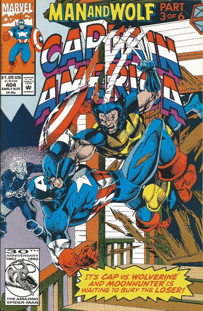 Couverture de Captain America (1968) -404- Children of the night