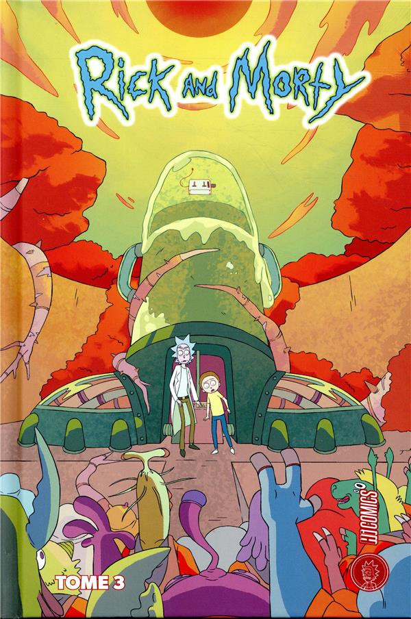 Couverture de Rick and Morty -3- Tome 3