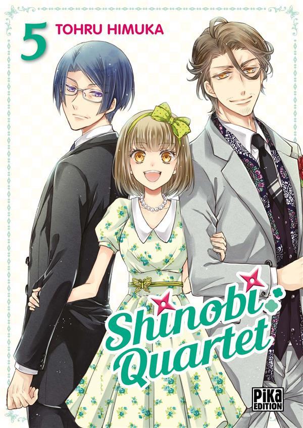 Couverture de Shinobi quartet -5- Tome 5