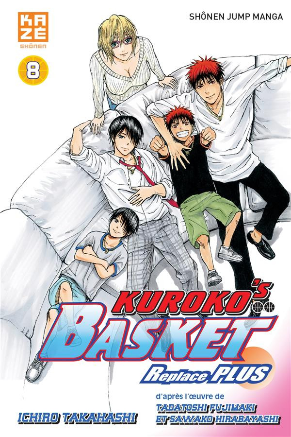 Couverture de Kuroko's Basket - Replace Plus -8- Tome 8