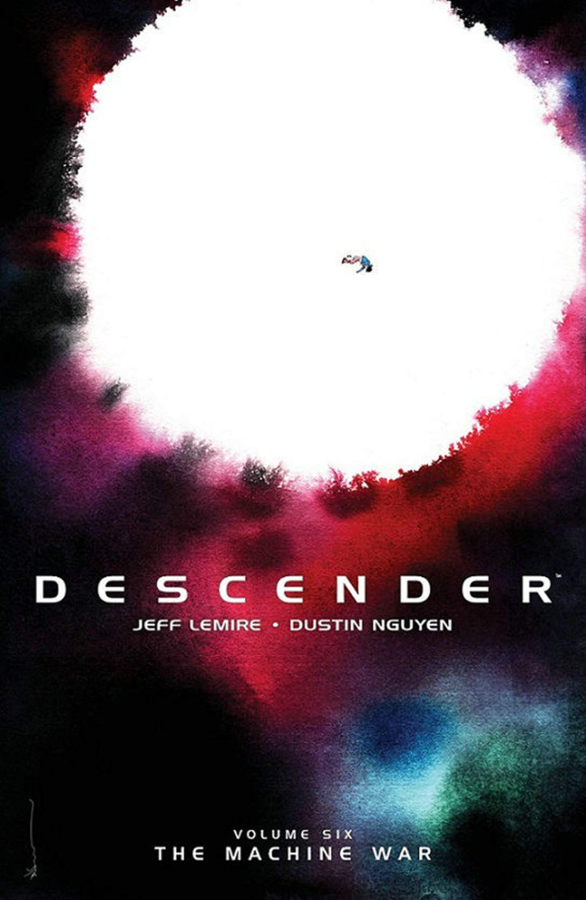Couverture de Descender (Image comics - 2015) -INT06- Volume Six - The Machine War