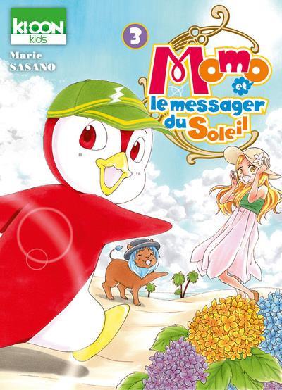 Couverture de Momo et le messager du Soleil -3- Tome 3