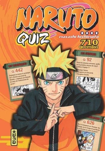 Couverture de Naruto - Naruto quiz