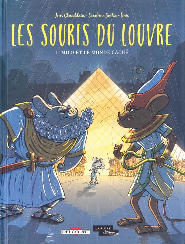 Couverture de Les souris du Louvre -1- Milo et le monde caché