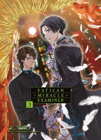 Couverture de Vatican Miracle Examiner -3- Tome 3