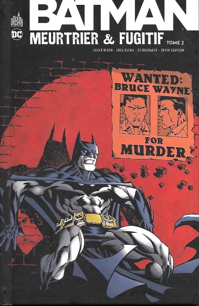 Couverture de Batman : Meurtrier & fugitif -2- Tome 2